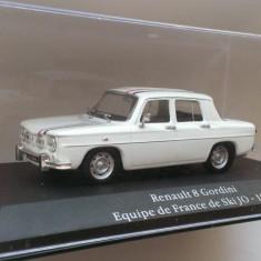 Macheta Renault 8 Gordini (Dacia 1100) Echipa Frantei de Ski 1968 - Atlas 1/43