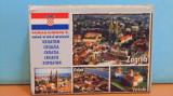 CROATIA - 29 VEDERI DIN DIFERITE ORASE, INSULE SI MONUMENTE NATURALE DIN TARA -