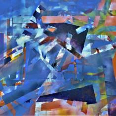 Tablou-pictura in ulei pe panza, Nonfigurativ, Abstract