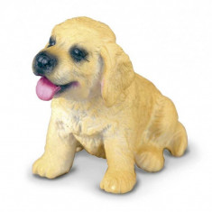 Figurina Golden Retriever Pui S Collecta, 4 x 3 cm