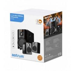 Boxe Audio 2.1 Astrum MS260 30W, Bluetooth, FM, USB, cu Telecomanda