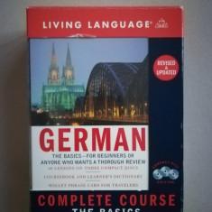 Curs limba germana - Living Language German Basic (in limba engleza)