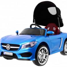 Masinuta electrica Roadster cu copertina, albastru