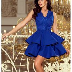 Rochie eleganta Charlotte albastru regal
