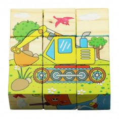Cuburi puzzle Vehicule