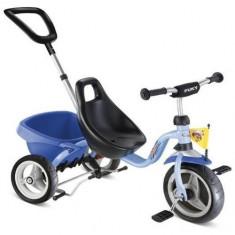 Tricicleta Albastra cu Maner 2326, Puky
