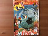 Revista coppa del mondo nr 1 1990 ole '90 fotbal sport CM italia poster romania