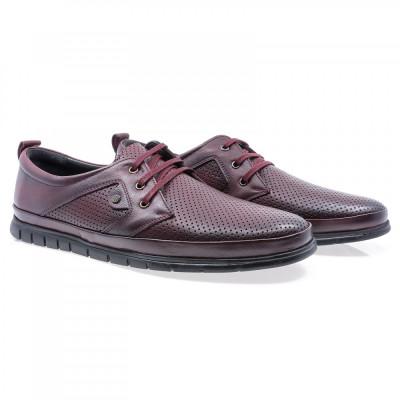 Pantofi barbati Goretti din piele naturala Gor-B1936-1-Bor foto