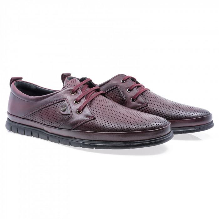 Pantofi barbati Goretti din piele naturala Gor-B1936-1-Bor