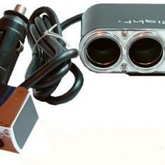 Spliter bricheta X3, cu incarcator USB, 5V - 116447