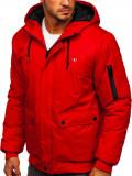 Cumpara ieftin Geacă de iarnă sport roșie Bolf HY821