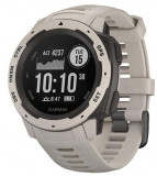 Ceas activity tracker Garmin Instinct, GPS, Rezistent la apa, Bluetooth (Alb)