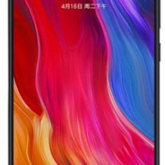 Telefon Mobil Xiaomi Mi 8, Procesor Octa-Core 2.8GHz/1.8GHz, Super AMOLED capacitive touchscreen 6.21inch, 6GB RAM, 256GB Flash, Camera Duala 12+12MP,