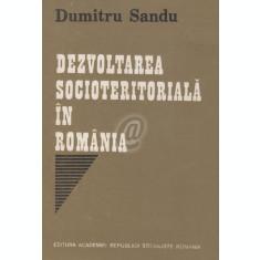 Dezvoltarea socioteritoriala in Romania
