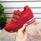 Pantofi sport Nadra rosii -rl
