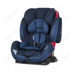 Scaun auto VIVARO cu ISOFIX Blue Coletto for Your BabyKids