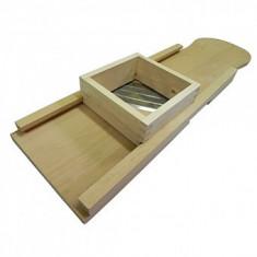Razatoare varza cu suport din lemn, 4 cutite, 915mm, Strend Pro WD4