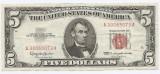 Statele Unite (SUA) 5 Dolari 1963 - (Serie Red-30065073) P-383