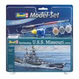 Cumpara ieftin Model Set Battleship U.S.S. Missouri(WWII), Revell, 27 piese-RV65128