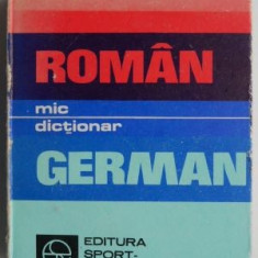 Mic dictionar roman german – Gh. Hanes