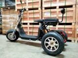 Scuter electric Harley NOU pe 3 roți, negru, Harley Davidson