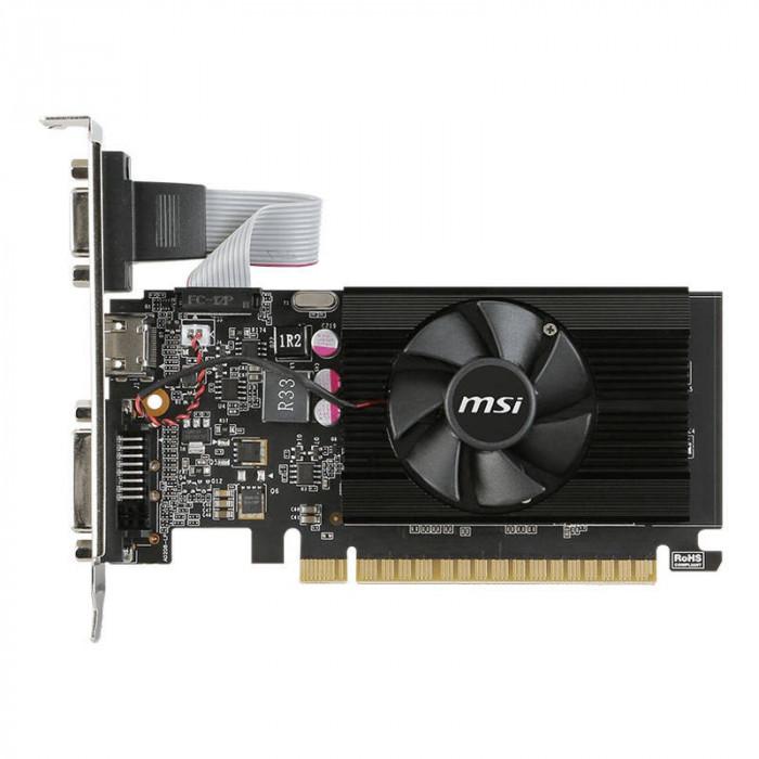 Placa video MSI nVidia GeForce GT 710 2GB DDR3 64bit low profile