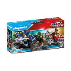 Playmobil City Action - Masina Off Road de politie si hot