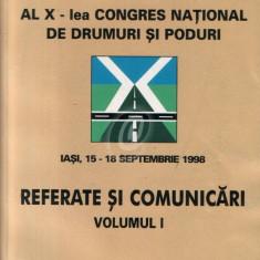 Al X-lea Congres national de drumuri si poduri. Referate si comunicari, vol. 1, 2, 3