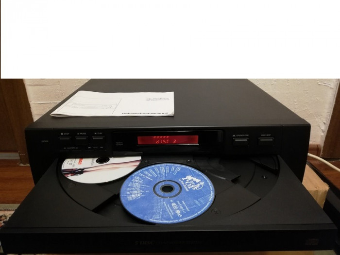 CD Player Changer 5 Disc - CDC 005 cu manual - Impecabil/Germany