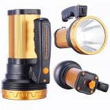 Lanterna Profesionala LED 10W Acumulator si slot USB 220V HH9921 S011