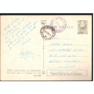 CPI B12409 CARTE POSTALA - SINAIA. CABANA BRADET