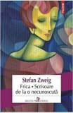 Frica- Scrisoare de la o necunoscuta/Stefan Zweig