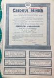 ActiuniCreditul Minier 1945