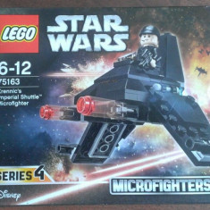 Lego Star Wars 75163 Microfighters 4 -Naveta Imperiala a lui Krennink - nou