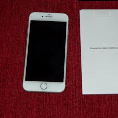 Iphone 8 256 GB - alb, accesorii complete, factura, garantie, Argintiu, Smartphone, Neblocat, Apple