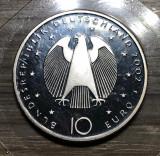 Moneda 10 Euro 2002 Germania Argint UNC