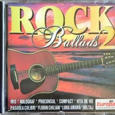 Compilatie Rock Ballads 2 (Iris, Holograf, Compact, Pasarea Colibri) (1 CD), roton