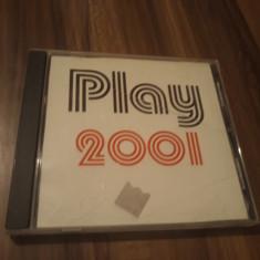 CD COLECTIE PLAY 2001 RARITATE!!!!! ORIGINAL