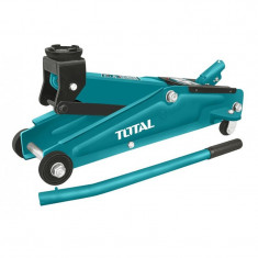 Cric hidraulic de podea Total, 3 tone, inaltime 275 - 410 mm, tip crocodil