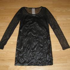 costum carnaval serbare rochie latex pentru adulti marime S