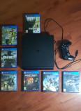 PS4 Slim + 7 Jocuri
