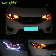 Benzi 2x16 LED-uri Daylight DRL semnalizare dinamica lumini de zi