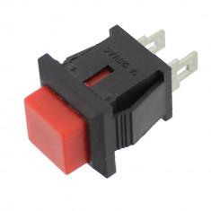 Push buton fara retinere, rosu, 0,5A, 250V, 14x14x19mm - 124630