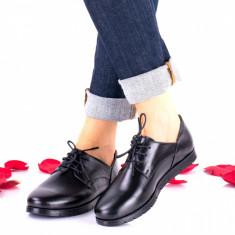 Pantofi dama casual din piele naturala NA296N