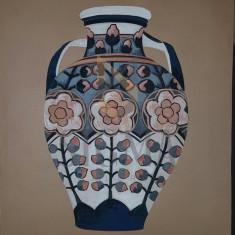 LUCIA BELLER ( 1889-1961 ) PROIECT PENTRU VAS-CERAMICA, grafica color