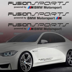 Sticker auto model BMW FUSION (set 3 buc.)
