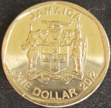 Moneda exotica 1 DOLAR / DOLLAR - JAMAICA, anul 2012 *cod 3605, America de Nord