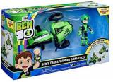 Set de joaca vehicul extraterestru cu figurina Rustbuggy Ben 10