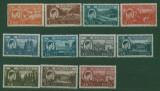 Romania 1947 Uzuale Mihai I - vederi serie neuzata LP 219