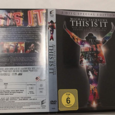 [DVD] Michael Jackson's This is IT - 2 discs Special Edition